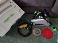 Festool Plunge Saw Set In Very Good Condition