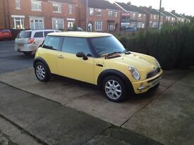 MINI ONE 2002 1.6L petrol