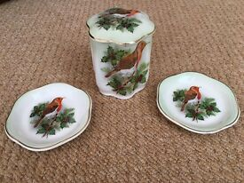Royal Worcester Palissy Royal Collection Xmas Pottery Excellent Condition