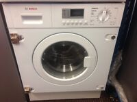BOSCH BUILT IN WASHER DRYER 7kg FREE DELIVERY AND WARRANTY
