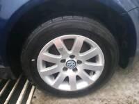 Passat .golf mk5 .touran.jetta alloy wheels