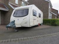 Avondale Passion (2008) 556 6 Berth Caravan - Rear Bunks