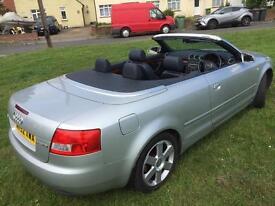 Audi A4 TDi convertible