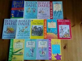 ROALD DAHL CHILDRENS BOOKS