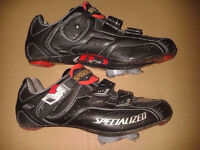 Specialized Road Shoes BG Pro Carbon X-Link Size 8, EU 42 selling with Keo cleats, swap possible!