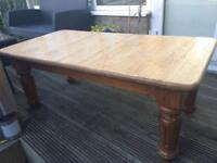 COFFEE TABLE - solid pine ( great for up-cycling)