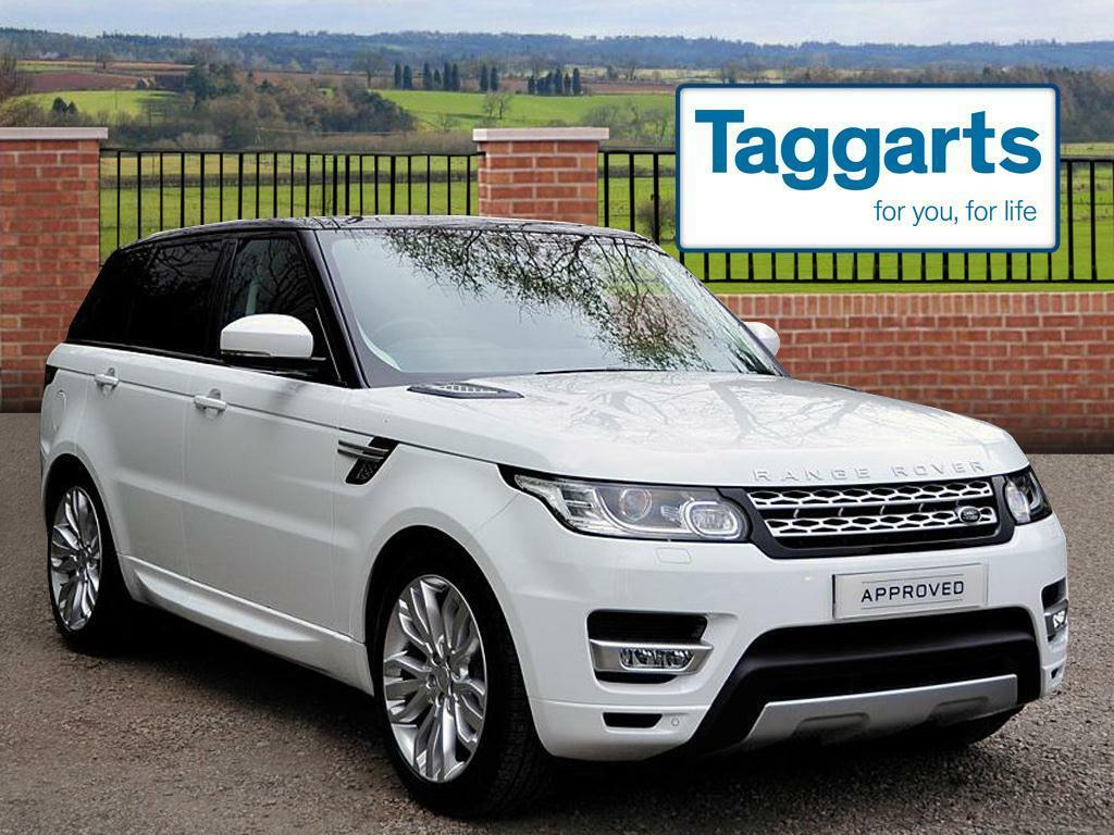land rover range rover sport sdv6 hse white 2017 02 28 in southside glasgow gumtree. Black Bedroom Furniture Sets. Home Design Ideas