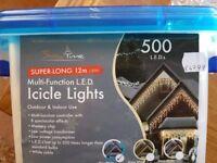 Super long 12m icicle lights