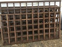 Square Fencing £2 a sheet