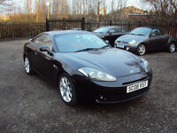 HYUNDAI COUPE SIII 2.0 3 DOOR LOW MILEAGE BLACK 2008 RED LEATHER SEATS AUX F.S.H+LONG MOT+2KEYS