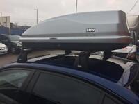 BMW E90/E87 GENUINE ROOF BARS & BOX
