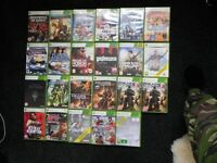 XBox360 games, various