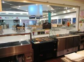 DELI/SANDWICH BAR: LOWRY OUTLET MALL, SALFORD: REF: G8854