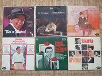 Frank Sinatra Vinyls x6, No one cares, This is Sinatra, Nice n easy etc, Original