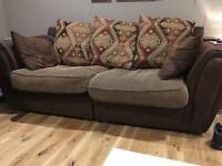 Fabric sofas (2 and 3 seater)