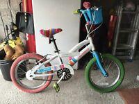 "14"" kids bike good condition £30"