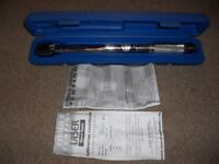 "Lazer Torque Wrench in FT-LB 1/4"" drive"