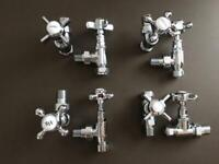 Milano and Hudson Reed , Old School Traditional valves for radiator