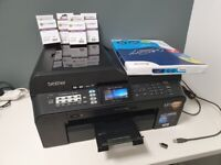 Brother MFC-J6510DW A3 + A4 All-in-One Inkjet Printer ++ Premium A3/A4 Paper ++ Ink Cartridges