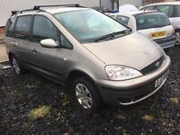2003 FORD GALAXY ZETEC 1.9TDI WITH ENGINE SEPARATE , TRADE IN SOLD AS WHOLE £295