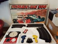 Scalextric 500 set plus extra track