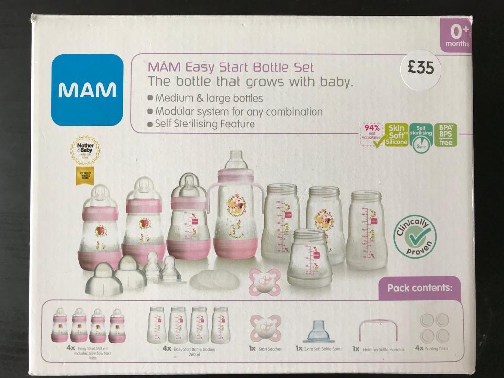 MAM Easy Start Bottle Set