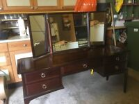 Stag Minstrel Mahogany dressing table
