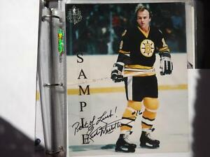 FS: Rick Middleton (Boston Bruins) 8x10 Autographed Photo London Ontario image 1