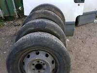 Tyres and Rims for Iveco Daily. Size 225/70/15 C