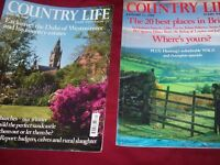 50 country life magazines