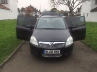 Vauxhall Zafira 1.9 CDTi Exclusiv 5dr, DVD Player ,Rear camera , SAT NAV , BLUETOOTH , FREE WARRANTY