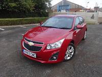 Chevrolet Cruze Ltz 5dr Auto Petrol 0% FINANCE AVAILABLE