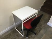 Mini folding table and chair