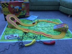 SCALEXTRIC The Simpsons Skateboard Chase Electric Racing set