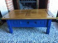 Corona coffee table and side/hall unit