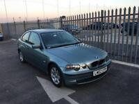 2002 BMW 3 Series 1,8 litre 3dr FSH 2 owners