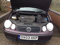 VW POLO 2003 1.9sdi 5 Door