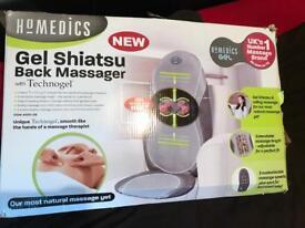 HOMEDICS Gel Shiatsu Massager with Heat
