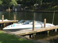 Powerboat speedboat cruiser