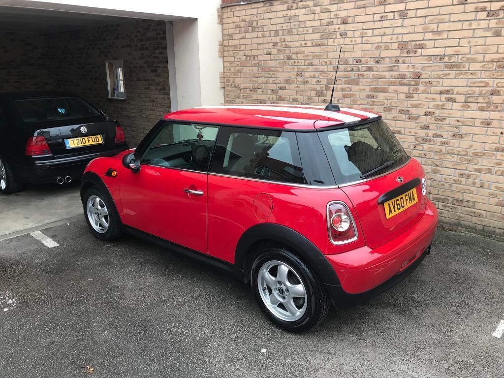 Mini One 1.6 Chilli red 2010/60
