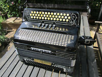Excelsior 'Jimmy Shand' model Button Accordion B/C/C#