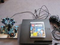 sony playstation 3 +dimensions+22 games