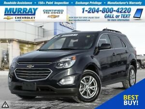 2017 Chevrolet Equinox LT *Heated Seats, Remote Start, Rear View