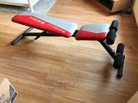 York Fitness Folding Weights Bench
