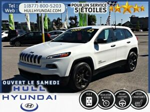 2018 Jeep Cherokee Sport, MAGS, TRÈS PROPRE, PRESQUE NEUF!!