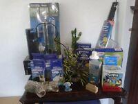Fluval 2 plus aquarium / fish tank filter plus numerous accessories