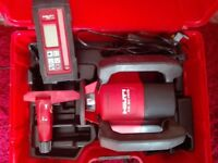 HILTI PR 30-HVS ROTATING LASER LEVEL