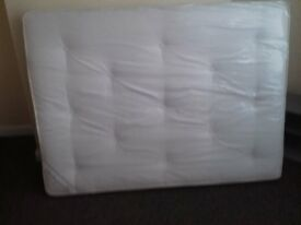 Brand New Comfy Double Ortho Comfort Mattress tufted fabric FREE delivery