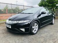 JANUARY 2008 HONDA CIVIC ES I-VTEC 1.8 PETROL JUST PASSED THE MOT EXCELLENT CONDITION