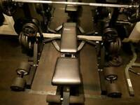 BODYMAX CF328 ADJUSTABLE WEIGHTS BENCH